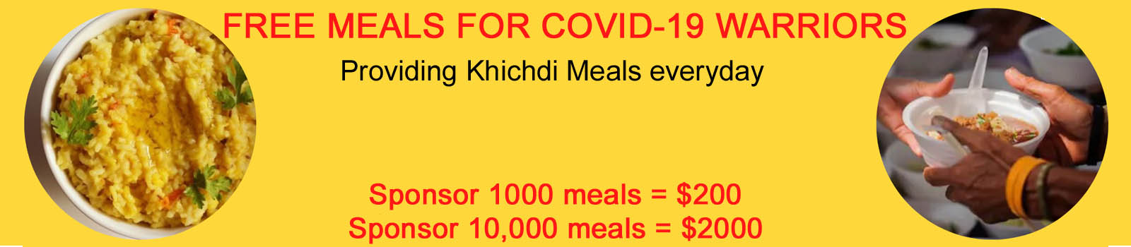 Join in the COVID-19 Support Drive